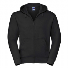 THURSO HIGH SCHOOL ZIPPED HOODIE WITH LOGO